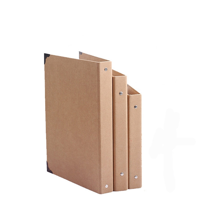 [해외]A4 b5 a5 폴더 구멍 반지 크래프트 폴더 크래프트 노트북 커버 선물 보내기/A4 b5 a5 폴더 구멍 반지 크래프트 폴더 크래프트 노트북 커버 선물 보내기