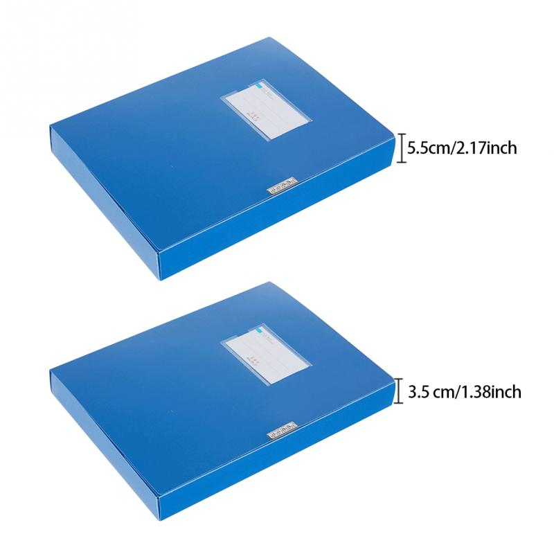 [해외]A4 경량 파일 박스 문서 보호 및 보존 3.5 cm/5.5 cm 두꺼운 파일 케이스 휴대용 비즈니스 주최자 보관함/A4 경량 파일 박스 문서 보호 및 보존 3.5 cm/5.5 cm 두꺼운 파일 케이스 휴대용 비즈니스 주최자 보관함
