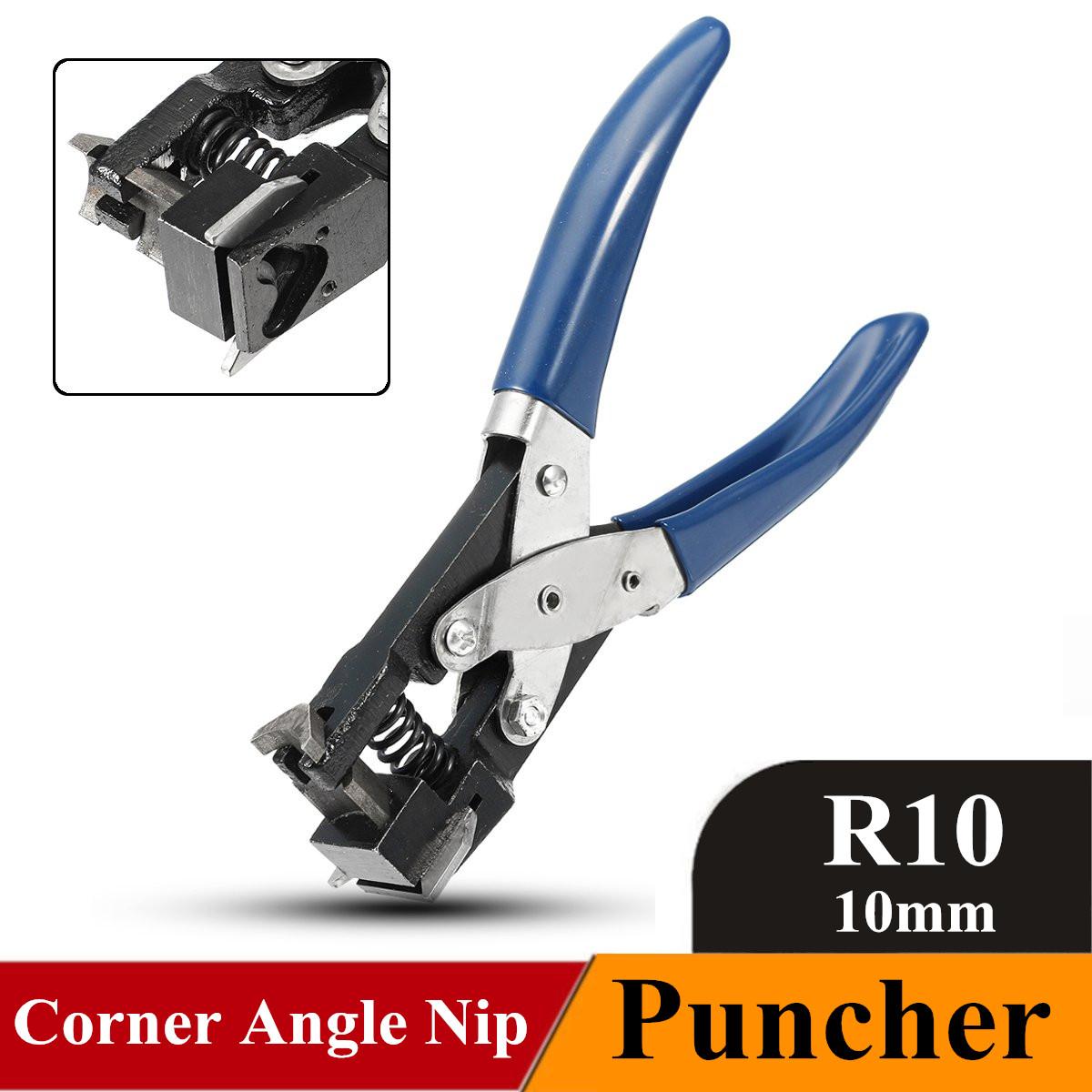 [해외]/R10 Heavy   PVC Card Corner Rounder Paper Die Cutter Puncher Angle Nip Steel Rubber Handle Plier Clamp Tools 10mm Blue