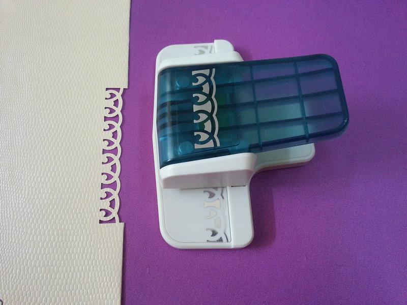 [해외]Free shipping New Arrival Fancy border punch number 2 design foam paper embossing punch for DIY handmade crafts/Free shipping New Arrival Fancy bo