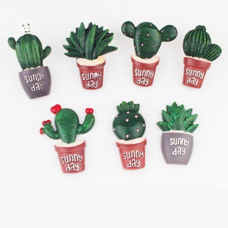 [해외]TUTU cactus shape 7pcs Plastic Quality Cork Board Safety Colored PushPins Thumb tack Office School Accessories Supplies H0265/TUTU cactus shape 7p