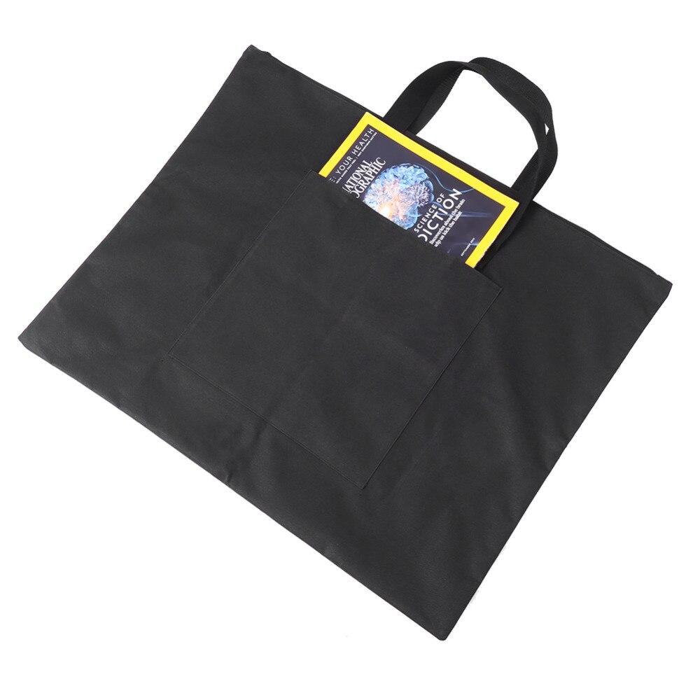 [해외]Black Portable Canvas A2 Single Shoulder Drawing Sketch Board Storage File Bag School Art Painting Bag/Black Portable Canvas A2 Single Shoulder Dr