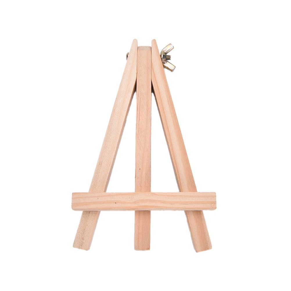 [해외]18X24cm Wood Artist Easel Wedding Number Place Name Card Stand Display Holder Frame Cute Desk Decor DIY Supplies/18X24cm Wood Artist Easel Wedding