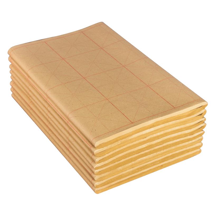 [해외]Pure bamboo pulp student adult Special-purpose Calligraphy Practice Xuan Paper Learning calligraphy Special-purpose rice paper/Pure bamboo pulp st