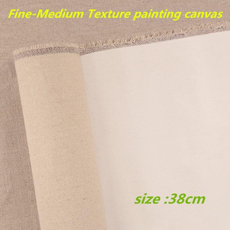 [해외]38 cm 와이드 롤 파인 텍스처-중간 텍스처 primed painting canvas roll 361gsm/38 cm 와이드 롤 파인 텍스처-중간 텍스처 primed painting canvas roll 361gsm