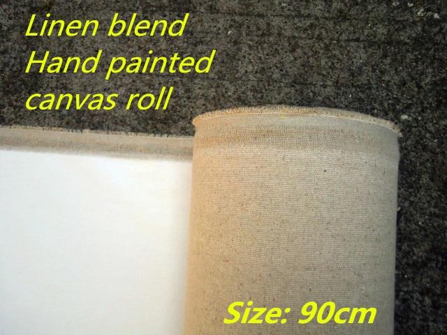 [해외]400gsm Triple primed fine texture painting hand painting canvas fabric, canvas art/400gsm Triple primed fine texture painting hand painting canvas