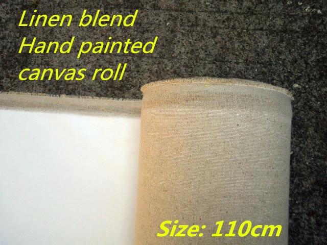 [해외]1.1m wide 400gsm triple primed smooth texture pre stretched canvas to paint/1.1m wide 400gsm triple primed smooth texture pre stretched canvas to