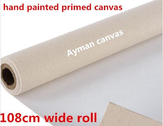 [해외]42in Blank artist primed linen blend canvas roll/42in Blank artist primed linen blend canvas roll