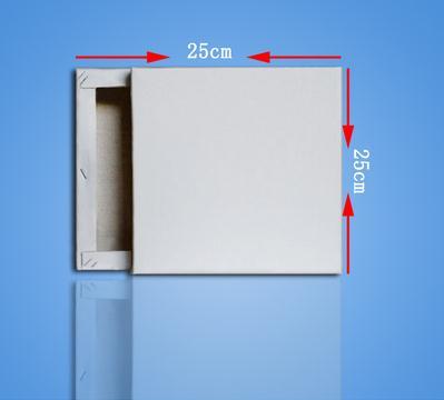 [해외]25*25cm best seller 100% cotton blank stretched canvas 10\