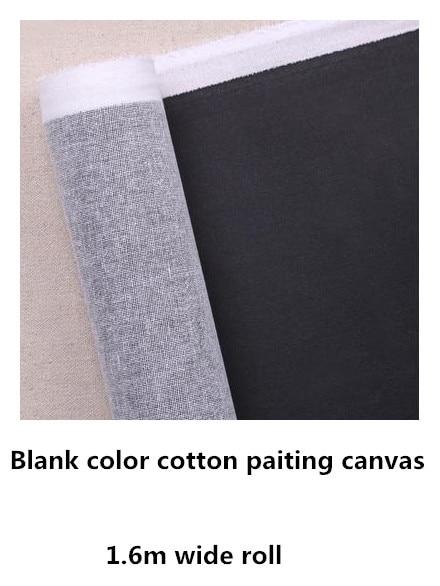 [해외]1.61m wide black color primed cotton canvas rollwholesale price/1.61m wide black color primed cotton canvas rollwholesale price
