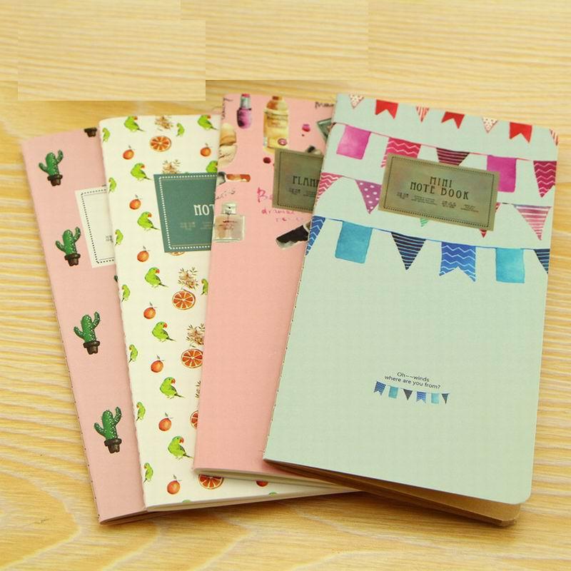 [해외]200 pcs New 24 Sheets Cactus Flamingo Cherry Week Planner Notebook To Do List Notebooks Blank Memo Pad School Supplies/200 pcs New 24 Sh