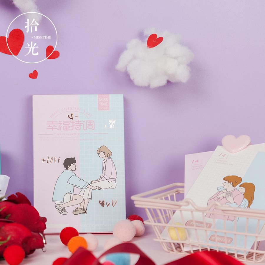 [해외]30 sheets/set 참신 해피 발렌타인 데이 엽서 인사말 카드 메시지 카드 생일 선물 카드/30 sheets/set 참신 해피 발렌타인 데이 엽서 인사말 카드 메시지 카드 생일 선물 카드