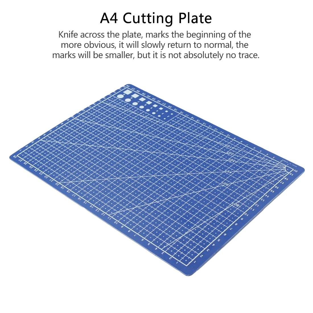 [해외]1 pc a4 30*22 cm 바느질 커팅 매트 양면 플레이트 디자인 조각 커팅 보드 매트 수제 핸드 툴/1 pc a4 30*22 cm 바느질 커팅 매트 양면 플레이트 디자인 조각 커팅 보드 매트 수제 핸드 툴