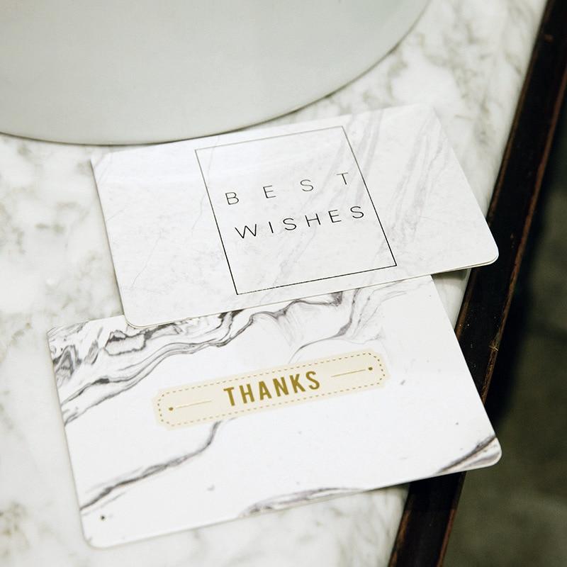 [해외]5pcs 새로운 창조적 인 대리석 인사 장 맞춤형 유니버설 발렌타인 골드 카드 신년 인사말 카드/5pcs new creative marble greeting card customizable universal Valentine gold card New Year g