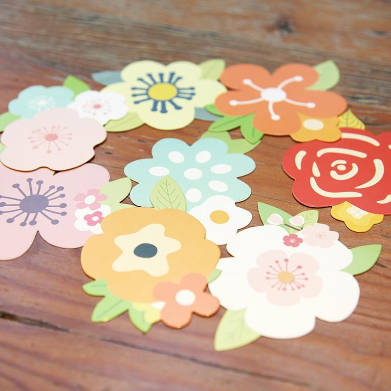 [해외]사탕 색깔의 크리 에이 티브 꽃 DIY 어머니의 날 인사말 카드의 다양한 5pcs 생일 소원 발렌타인 카드 맞춤형/5pcs Variety of Candy-colored Creative Flowers DIY Mother`s Day Greeting Card Birt
