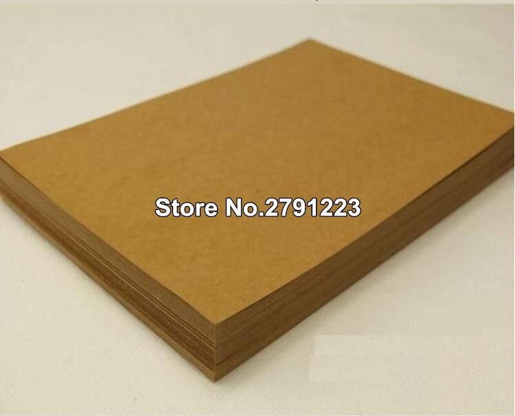 [해외]20pcs/lot A4 Whole  A4 Thick Brown Kraft Paper Paperboard Cardboard Card Blank/20pcs/lot A4 Whole  A4 Thick Brown Kraft Paper Paperboard