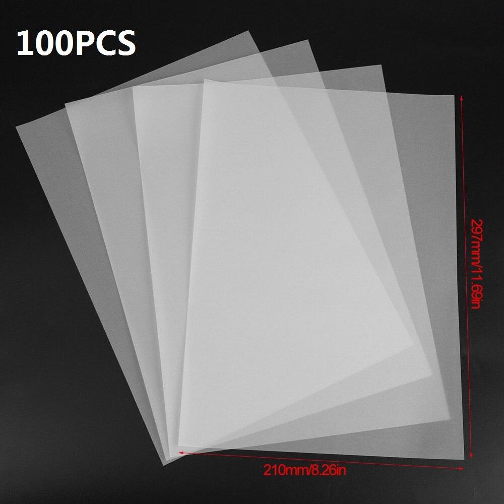 [해외]100pcs A4 Translucent Tracing Paper Copy Transfer Printing Drawing Paper sulfuric acid paper for engineering drawing / Printing/100pcs A4 Transluc