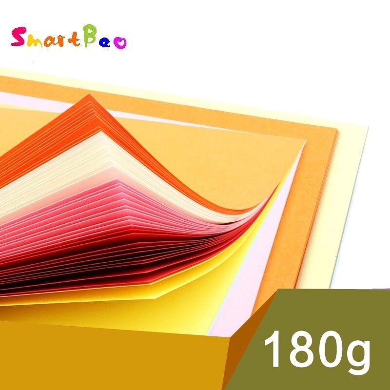 [해외]180g A4 Card Paper Solid Color Scrapbooking Paper Handmade DIY Scrapbooking Cards Gift Craft Decoration 100 Pieces/Lot/180g A4 Card Pape