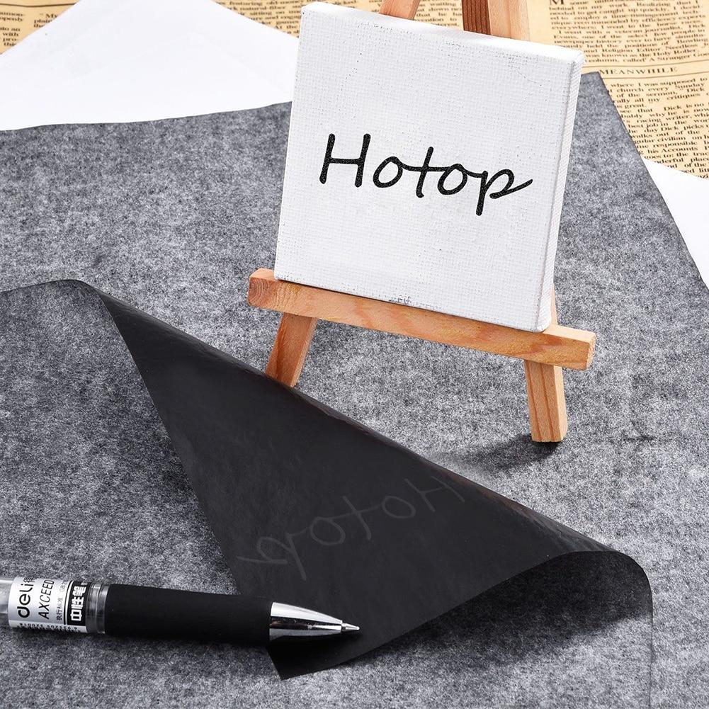 [해외]/100Pcs Reusable Tracing A4 Graphite Painting Accessories Carbon Paper Copy Legible high quality