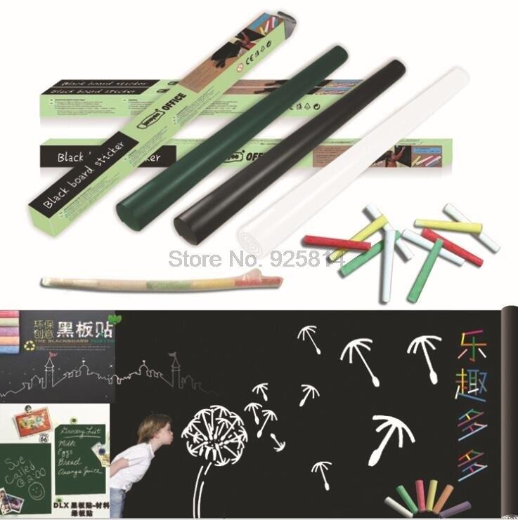 [해외]300PCS/lot 45*200cm Functional Erasable Whiteboard/Blackboard Removable DIY Home/300PCS/lot 45*200cm Functional Erasable Whiteboard/Blac