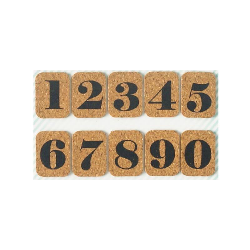 [해외]번호 0-9 날카로운 코르크 나무 메시지 보드 phellem 코르크 나무 게시판 스티커와 단일 부드러운 나무 벽 보드/번호 0-9 날카로운 코르크 나무 메시지 보드 phellem 코르크 나무 게시판 스티커와 단일 부드러운 나무 벽 보드