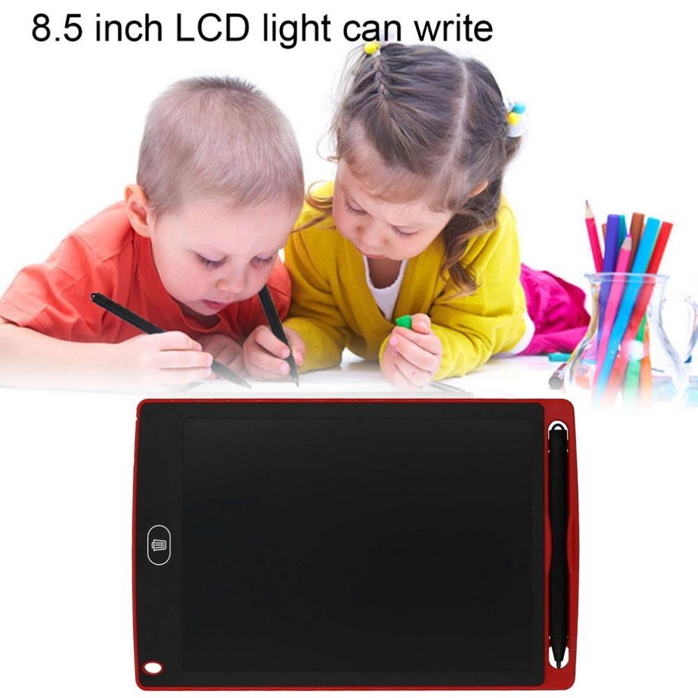 [해외]8.5 인치 LCD 화면 쓰기 패드 디지털 도면 패드 필기 보드 휴대용 전기 보드 홈 오피스 공급/8.5 Inches LCD Screen Writing Pad Digital Drawing Pad Handwriting Board Portable Electric B