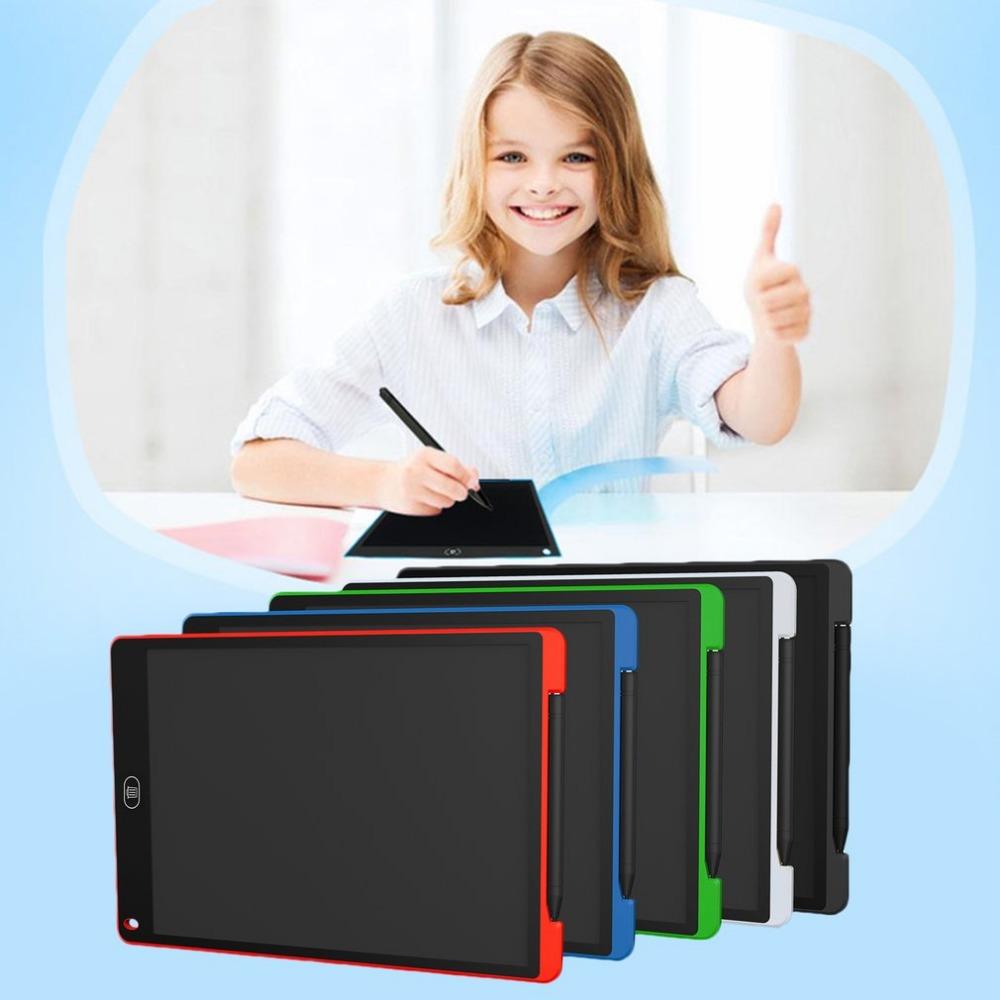 [해외]12 인치 LCD 화면 쓰기 패드 디지털 그리기 패드 필기 보드 휴대용 전기 쓰기 보드 홈 오피스 용/12 Inches LCD Screen Writing Pad Digital Drawing Pad Handwriting Board Portable Electric