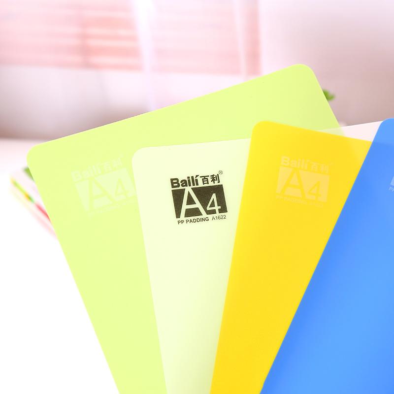 [해외]미루이 학생 학습 문구 용품 캔디 리본 통치자 데스크탑 쓰기 플라스틱 도장 시험 A4 부드럽고 하드 패드 임의의 색상/Mirui student learning stationery candy ribbon ruler desktop writing plastic pai