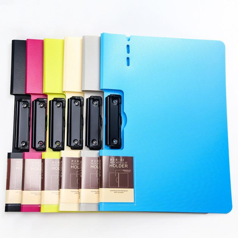 [해외]1PC 다채로운 가로 폴더 A4 쓰기 보드 비즈니스 계약 폴더 음성 폴더 사무실 학생을Office 폴더/1PC Colorful Horizontal Folder A4 Writing Board Business Contract Folder Speech Folder O