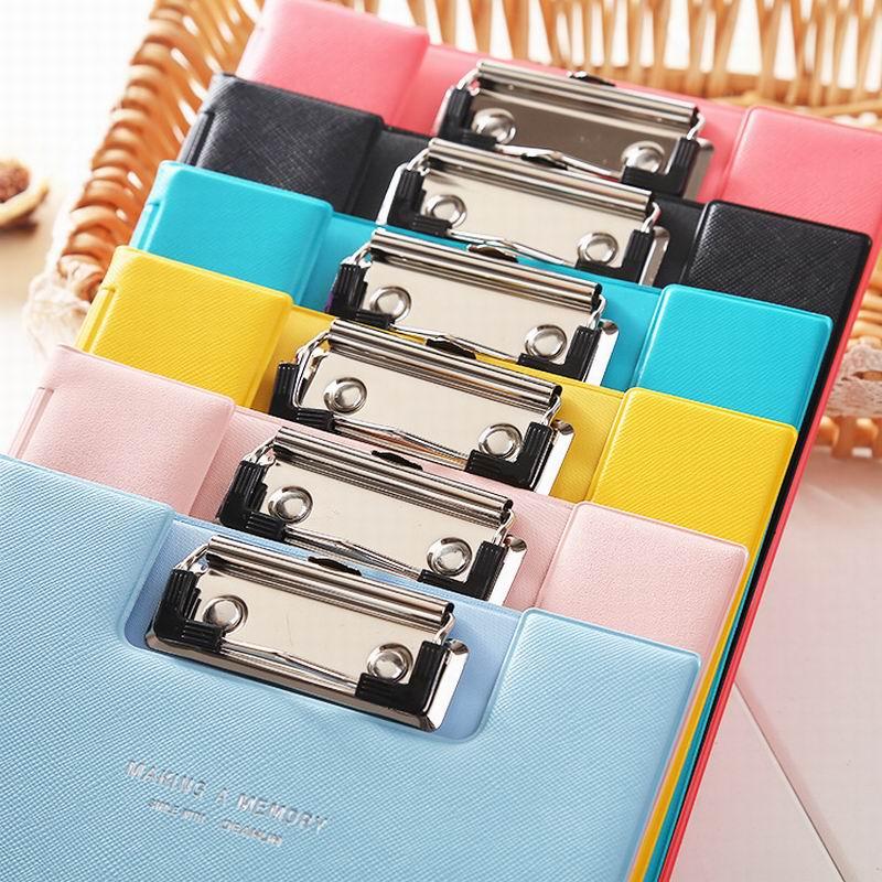 [해외]200 PC 캔디 컬러 다기능 Pu 폴더 파일 파일 클립 보드 합판 학생 쓰기 패드 클립 보드 주최자 학교 & amp; 사무실/200 PCS Candy Color Multifunction Pu Folder File Clipboard Plywood Stud