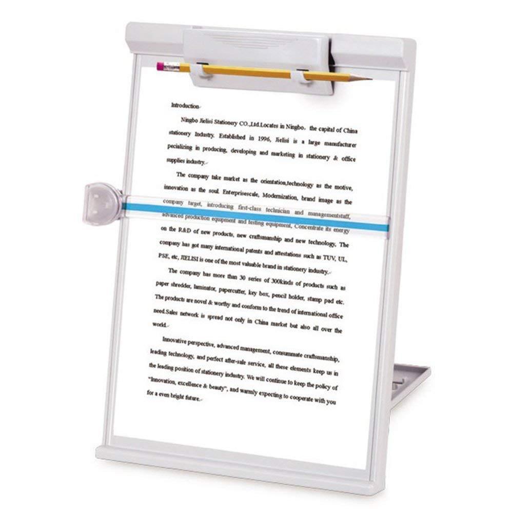 [해외]문서 복사 홀더, 복사기 받침대, 조절 가능, 회색/Document Copy Holder, Copy Holder Stand, Adjustable, Gray