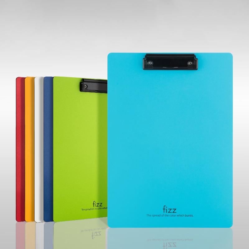 [해외]여러 가지 빛깔의 A4 PP 방수 클립 보드 용지 파일 폴더 학생 드로잉 쓰기 패드 보드 Office 비즈니스 파일 클립 편지지/Multicolor A4 PP Waterproof Clipboard Paper File Folder Student Drawing Wr