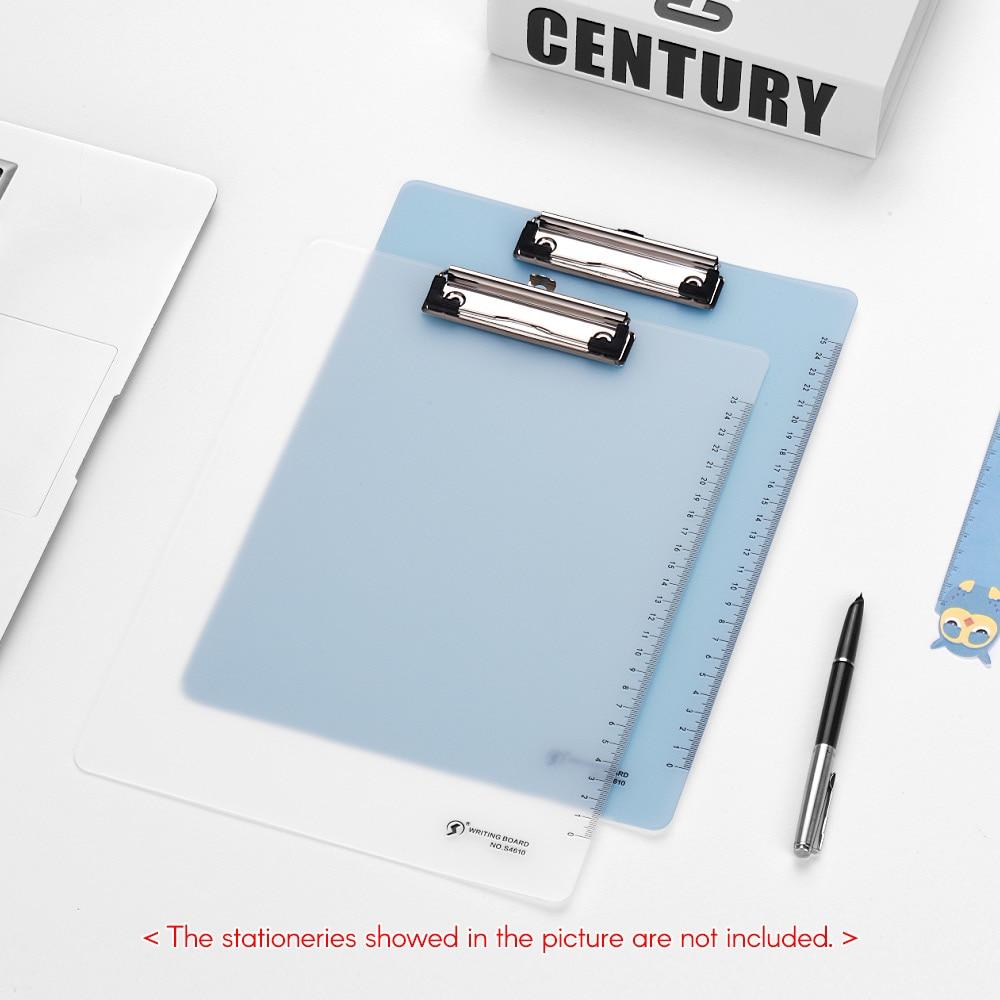 [해외]플라스틱 A5 쓰기 패드 메모 클립 보드 플레이트 비즈니스 폴더를파일 폴더 학교 신문 용지 레스토랑/Plastic A5 Writing Pad Memo Clipboard Plate File Folders for Business Office School Papers