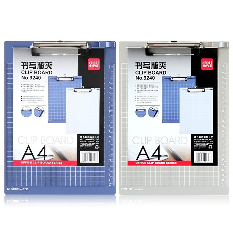 [해외]?A4 ClipboardRuler PP 쓰기 패드 책상 문서 폴더 보드 학교 사무실 편지지 바인더 클립 보드/ A4 ClipboardRuler PP Writing Pad Desk Document Folder Board School Office Stationery